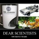 Dear Scientists