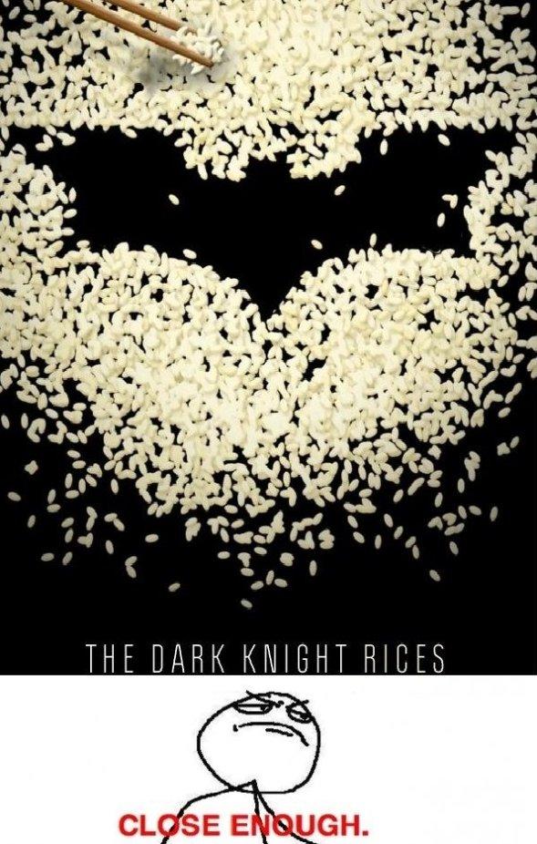 The Dark Knight Rices