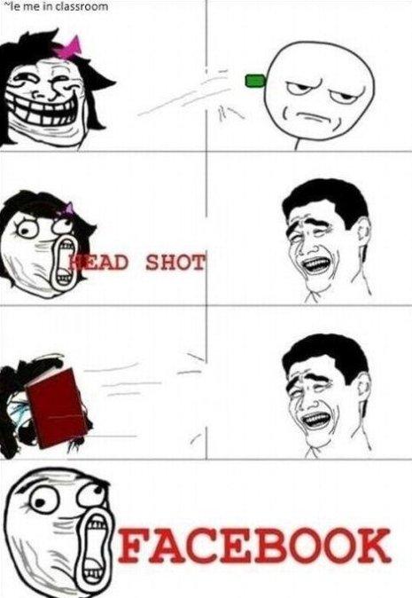 Headshot!