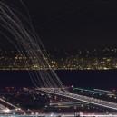 Long Exposure Photo of Airport