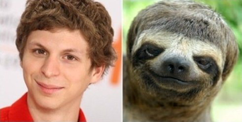 Michael Sloth Totally Looks Like