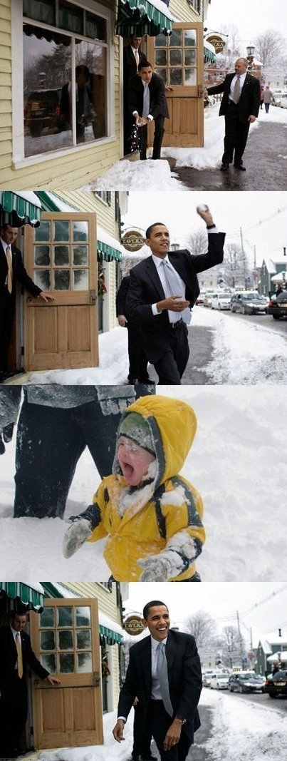 Obama Trolling