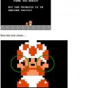 Toad From Super Mario