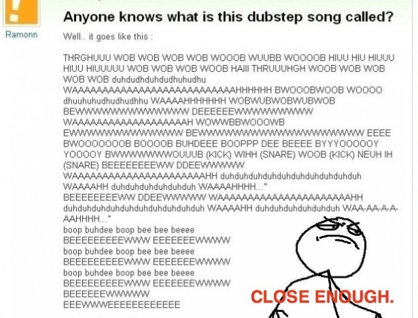 Anoyone Know This Dubstep Song?