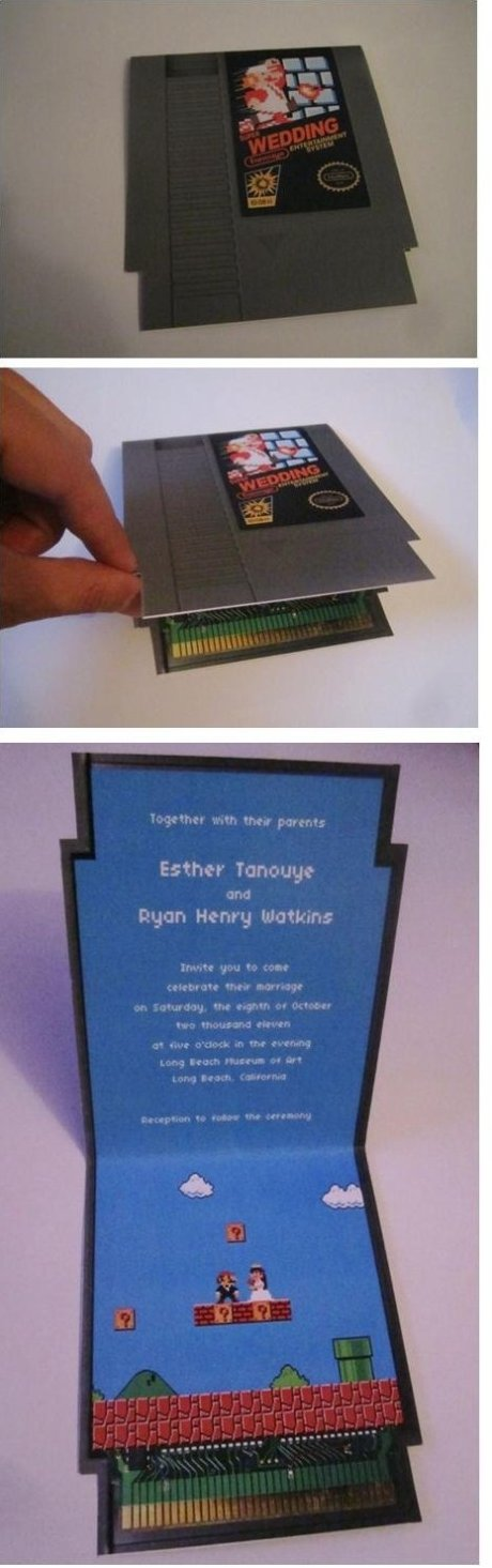 Epic Wedding Invitation