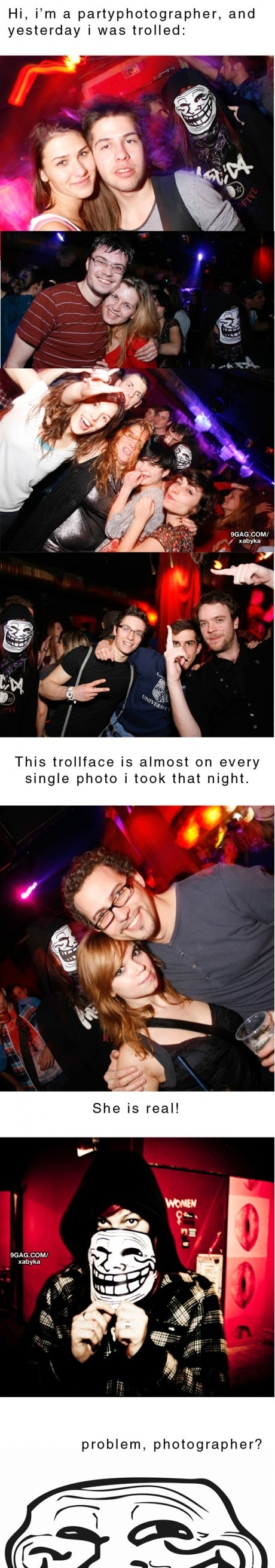 Epic Photobomber