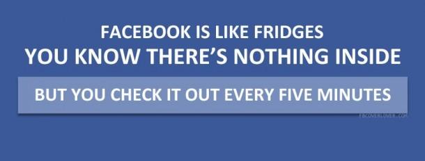 Facebook is Like a Fridge