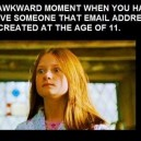The Awkward Moment…