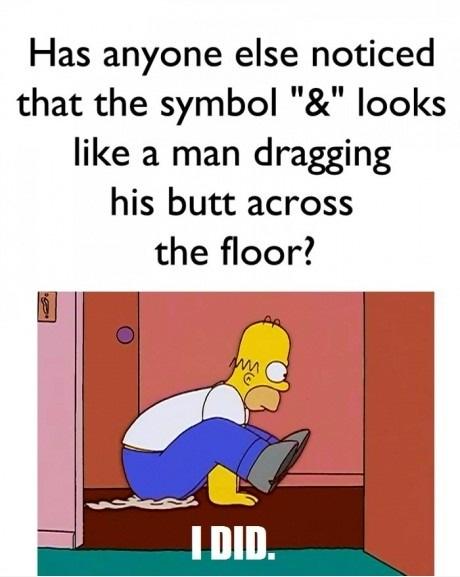 The & symbol