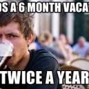Needs 6 months Vacation