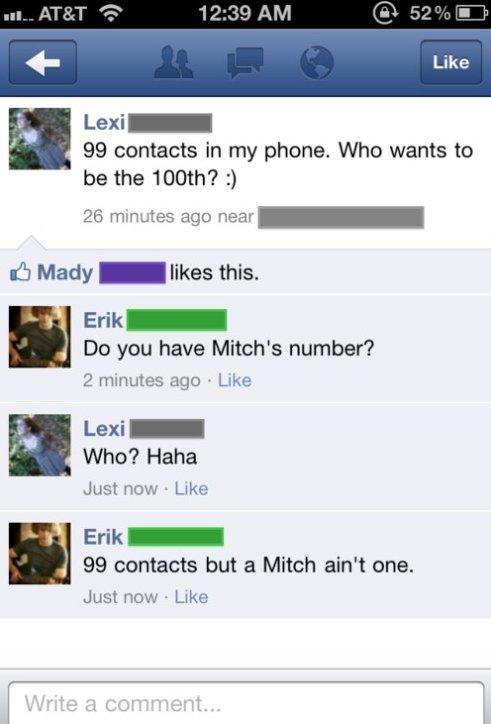 I Got 99 Contacts…