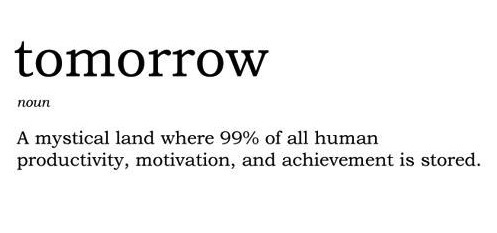 The Definition of Tomorrow