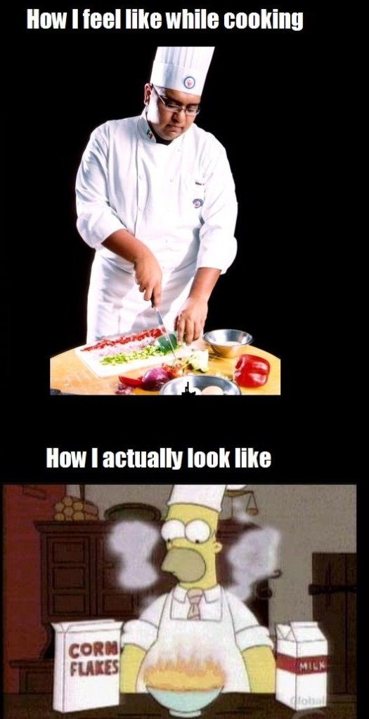 When Cooking
