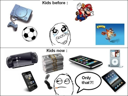 Kids Now vs. Kids Before