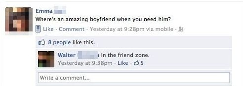 Look In The Friend Zone