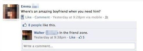 Look In The Friend Zone