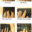 Hands When Typing