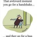 Handshake Or Hug?