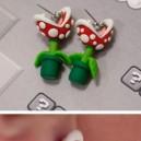 Awesome Super Mario Earrings
