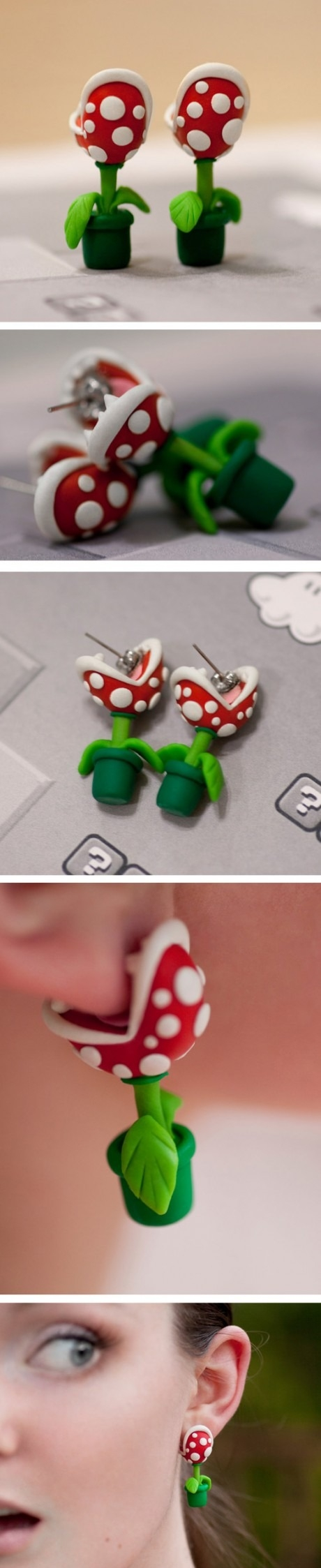 Awesome Super Mario Earrings