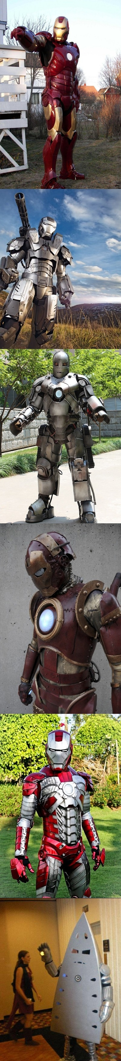 Iron Man Cosplay Win!
