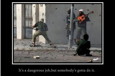 It's a Dangerous Job…