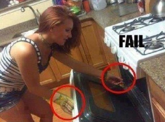 Kitchen Fail!