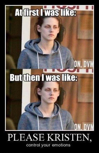 Please Kristen Stewart…