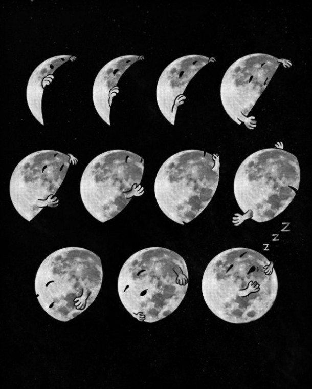 Moon Sleeping Phases
