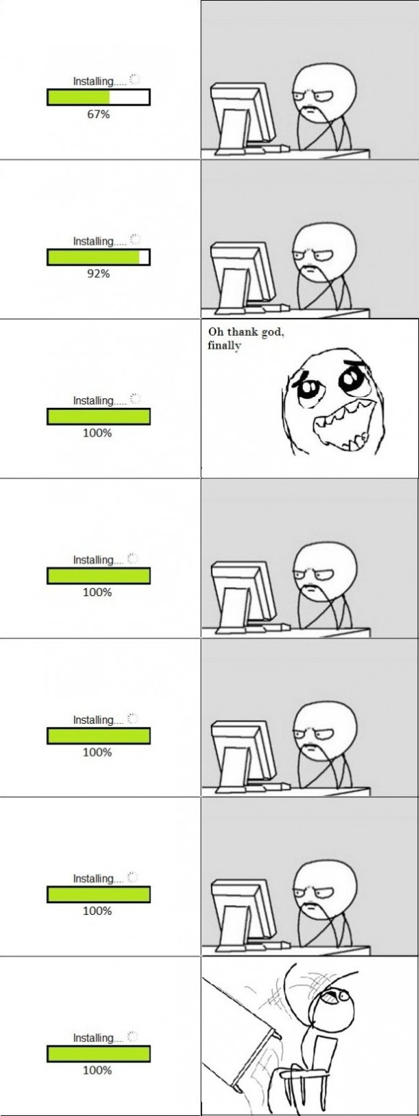 The Trolling Progress Bar