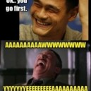Making Funny Faces – Yao Ming