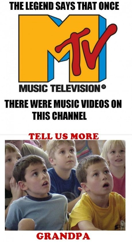 Once There Was Music on MTV