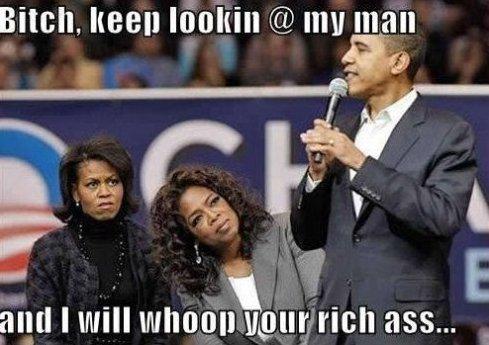 Oprah vs. Mrs Obama