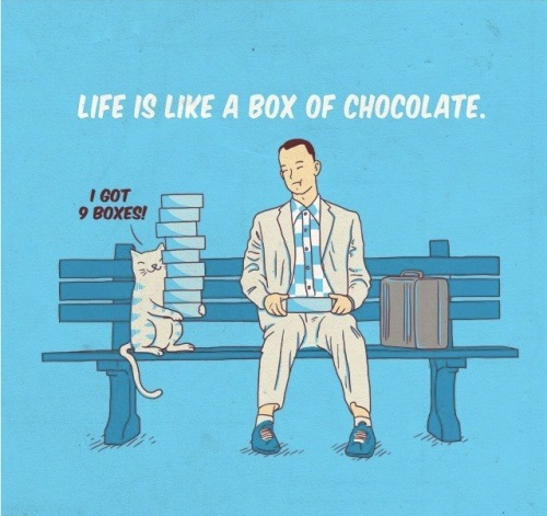 Life is Like a Box of Chocolate