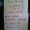 Short Staff