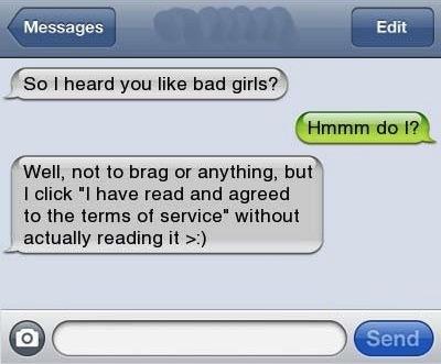 I Heard You Like Bad Girls