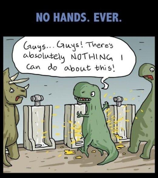 Poor T-Rex…