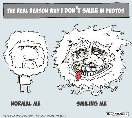 Why I Don't Smile in Photos