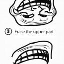 Make a Shark From a Troll Face