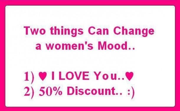 Change a Women's Mood