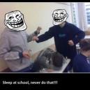 Never Sleep at School