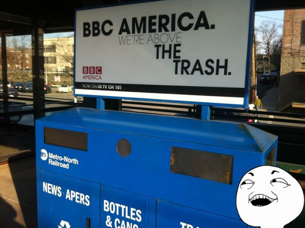 Clever Advertising by BBC America
