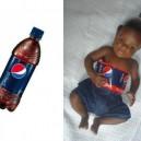 Cute Kid Dressed As a Bottle
