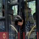 Head Stuck In Bus Door Fail!