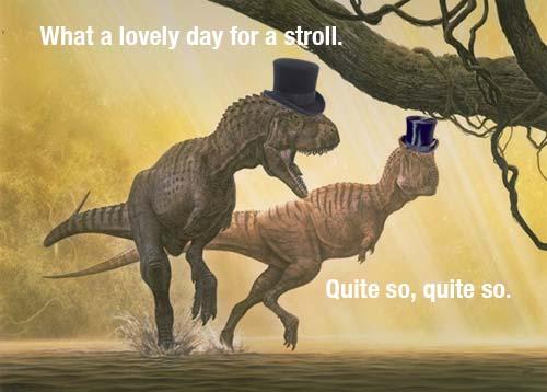 T-Rex Strolling