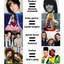 Music Stars – Now and Then