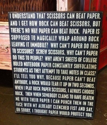 Rock Paper Scissors Busted!