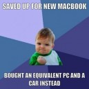 Saved Up For a New MacBook