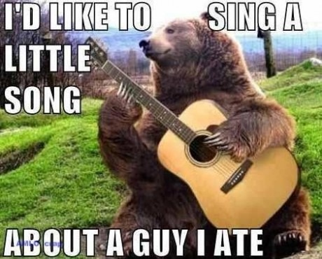 I'd Like To Sing a Little Song…