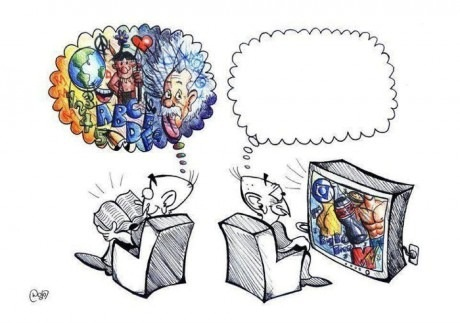 Books vs. TV